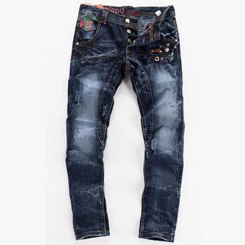 2015 New Arrival Jeans Men,Dark Blue Jeans,Fashion Designer Character Men's Jeans,Wholesale&Retail,Large Size 30-38,931