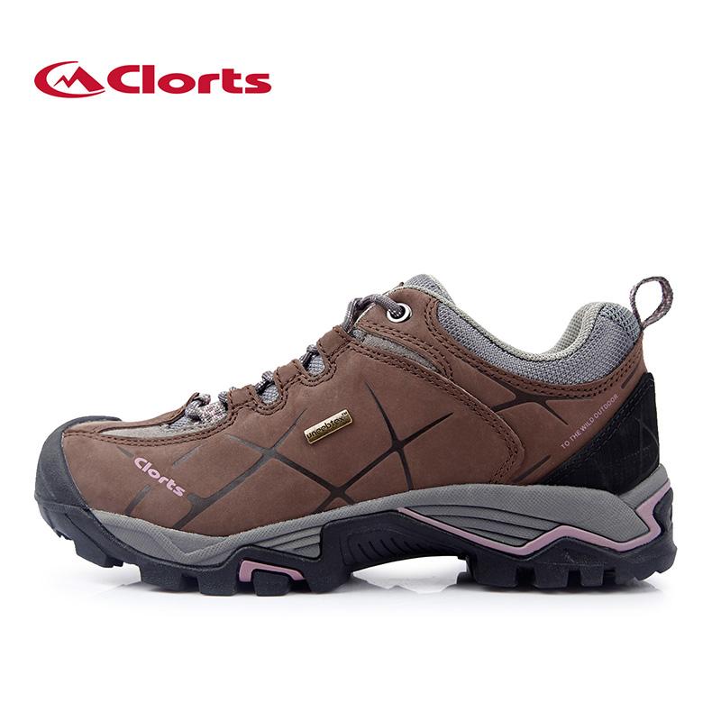 2016 Autumn Clorts Women Hiking Shoes Waterproof Trekking Boots First Layer Leather Fashion Hiking Boots HKL-805C(China (Mainland))