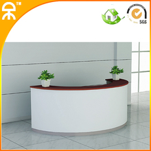 NEW 2.1m (6.89 feet Wide) modern information counter furniture for beauty salon for 2 persons(China (Mainland))