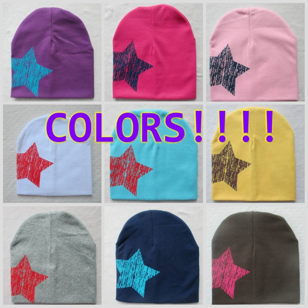 2016 new baby hat knitted stars spring fall baby hats I LOVE PAPA MAMA infant cap Cotton children Beanies ld70(China (Mainland))