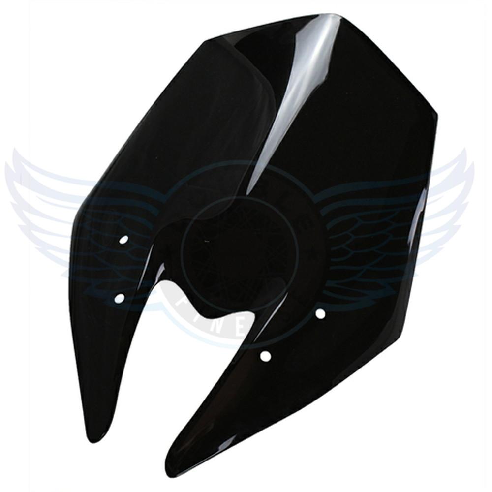 2015 новый мотоцикл лобового стекла ветрового двойной черный цвет мотоцикл ветер DeflectorsFor Kawasaki Z800 2013 - 2014