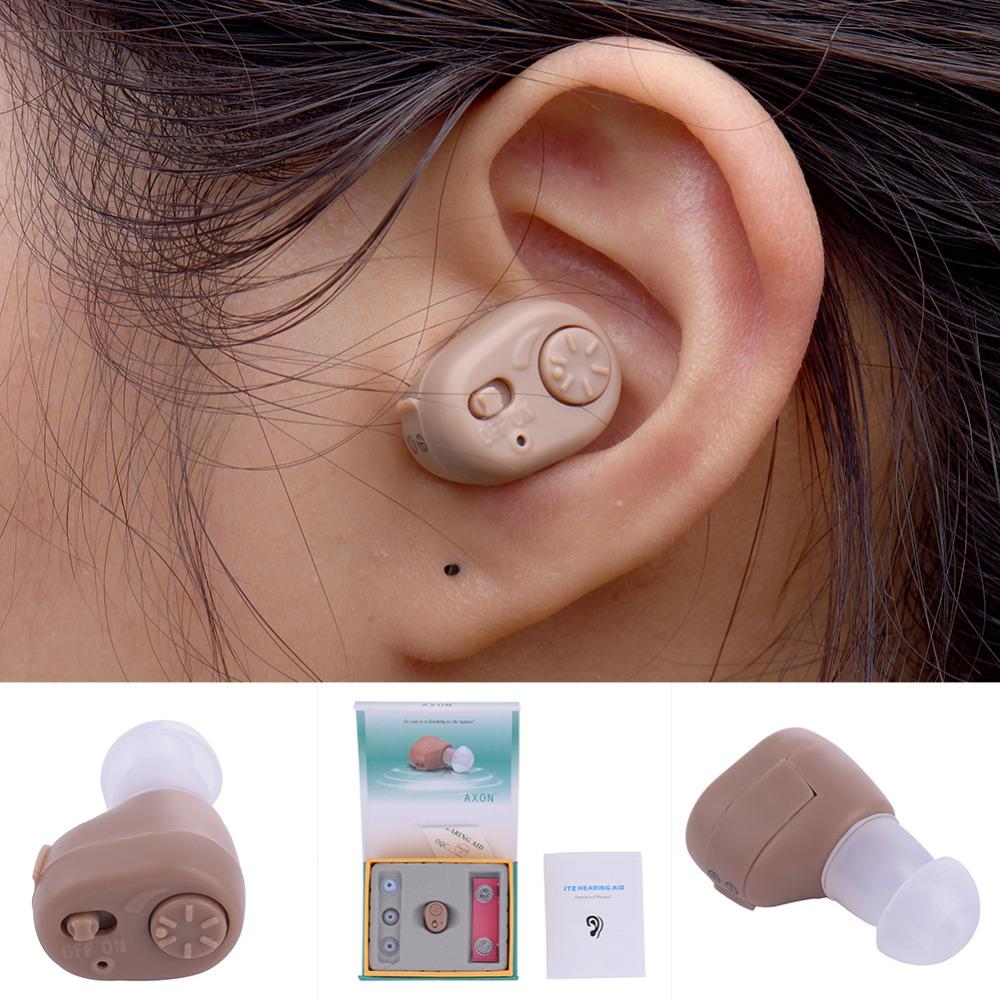 Portable Listening Mini Digital Hearing Aid/Aids Ear Sound Amplifier Volume Adjustable Ear Care Tool