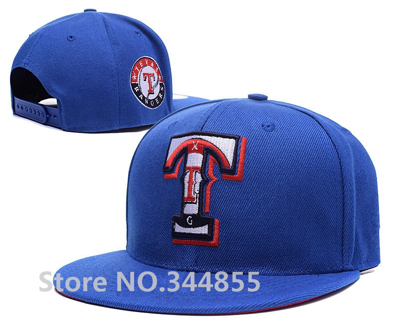 2016 New Arrival Men's Texas Rangers Royal Blue Color Snapback Hats Baseball Sport Team Embroidered T Letter Adjustable Caps(China (Mainland))