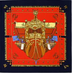2015 new Scarf female French royal palace patterns twill silk scarves women's foulard cachecol feminino 100*100cm(China (Mainland))