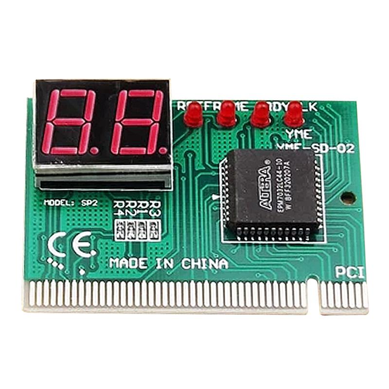 2 цифровой пк PCI материнская