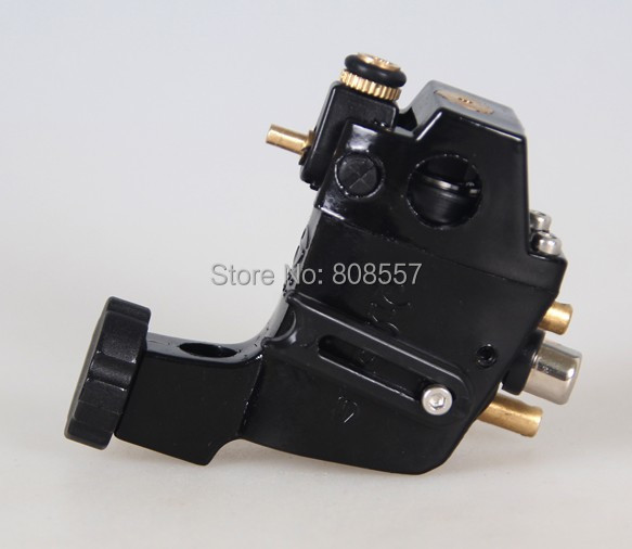 Buy top rotary tattoo machine black machines low noise for Motorcity tattoo supply