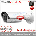 3MP Surveillance Camera DS 2CD2635F IS Full HD Vari focal IR IP Bullet Camera with POE