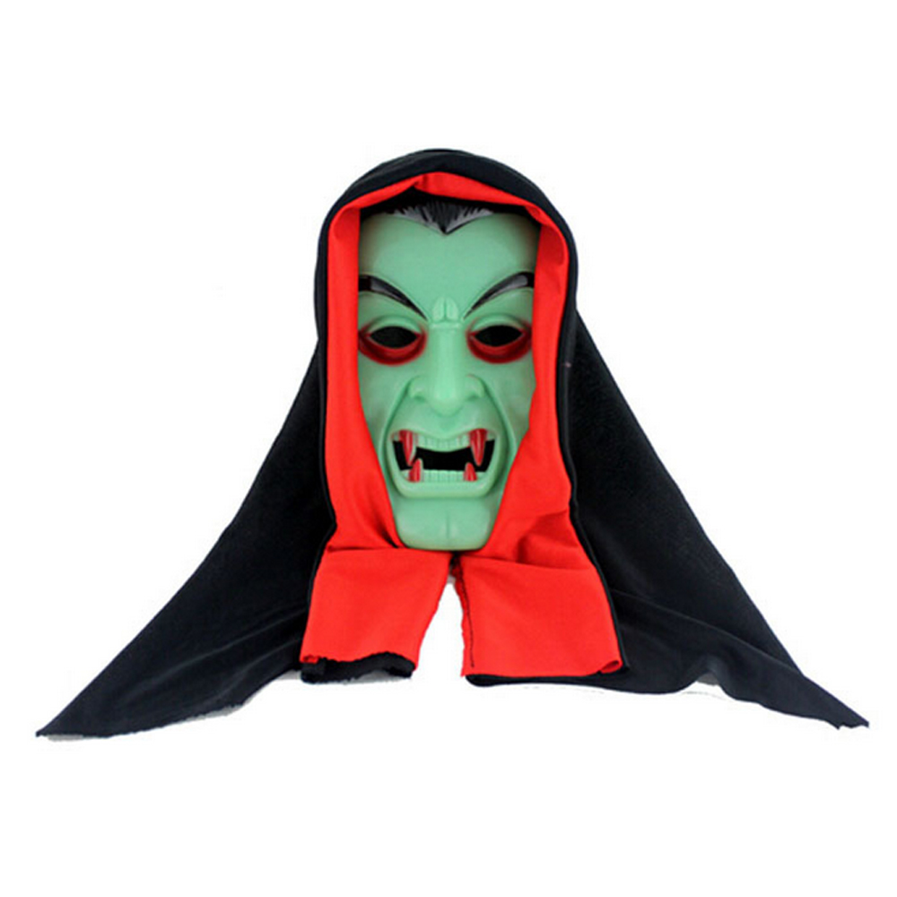 Horror Vampire Devil Mask Masquerade Party Halloween Cosplay Scary Costume Props - Toyben Mall store