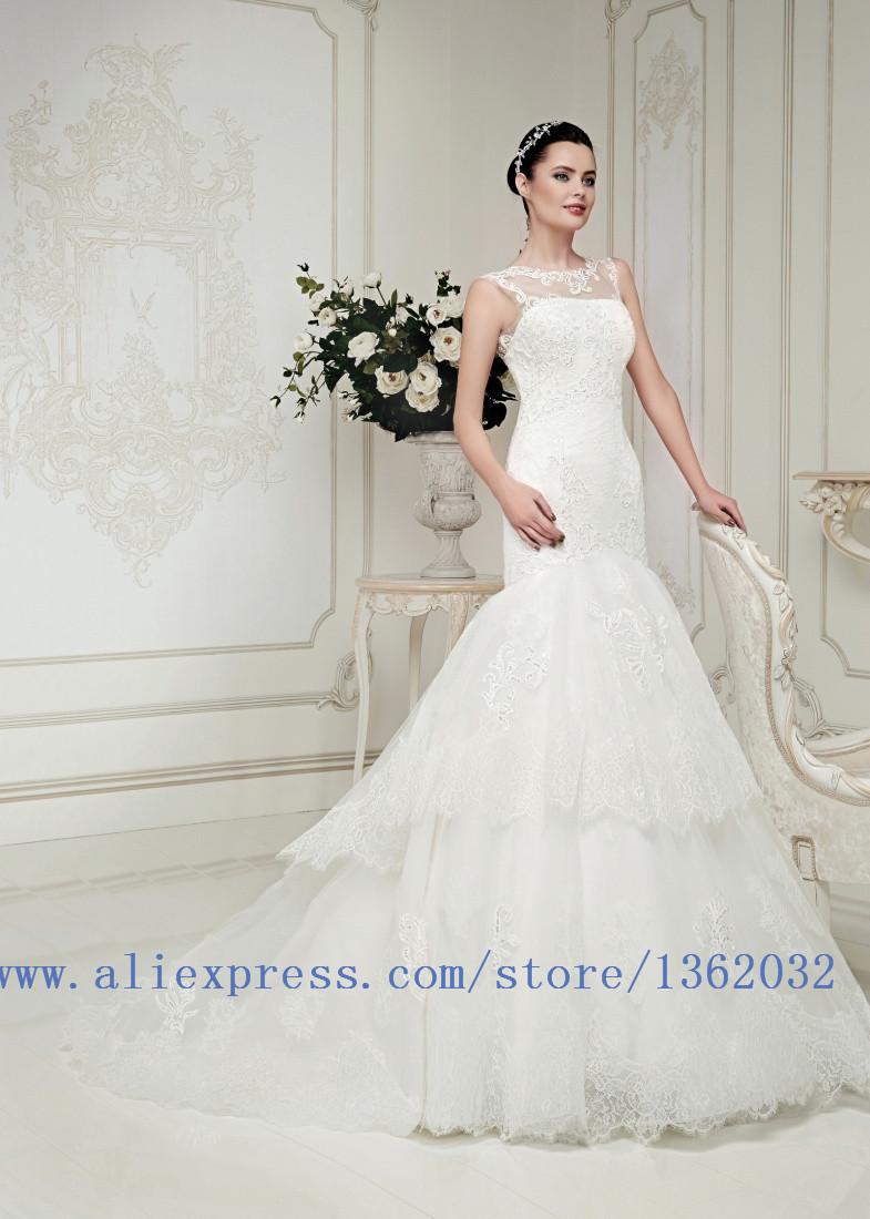 Robe de mariée blanche gaine
