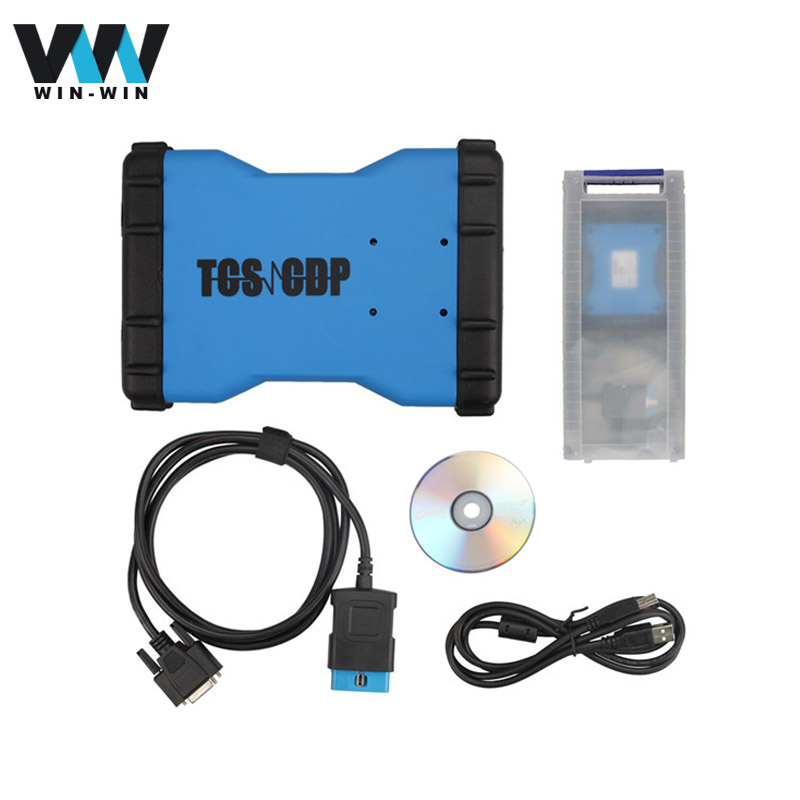 TCS CDP 2014.R2 Bluetooth Main v3.0 Chip Free Keygen Diagnostic Tool TCSCDP Pro bluetooth 3 in1 cars trucks - Win-Win Store store