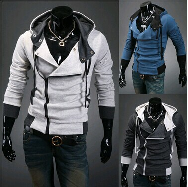Sports Hooded Jacket Casual Winter Jackets hoody sportswear Assassins Creed Men's Clothing Hoodies Sweatshirts - Nai Gu's store