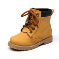 2016 New Martin Boots Kids Leather Quality Casual Shoes Winter Boys Girls Footwear Short Boot High