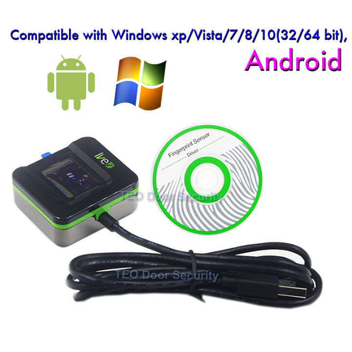 LIVE20R Andriod Fingerprint Reader Biometrics Fingerprint Scanner SLK20R Desktop Enrollment and Identification Device