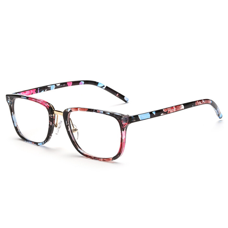 Clear Glasses Frame Mens : Aliexpress.com : Buy Retro Square Clear Glasses With ...