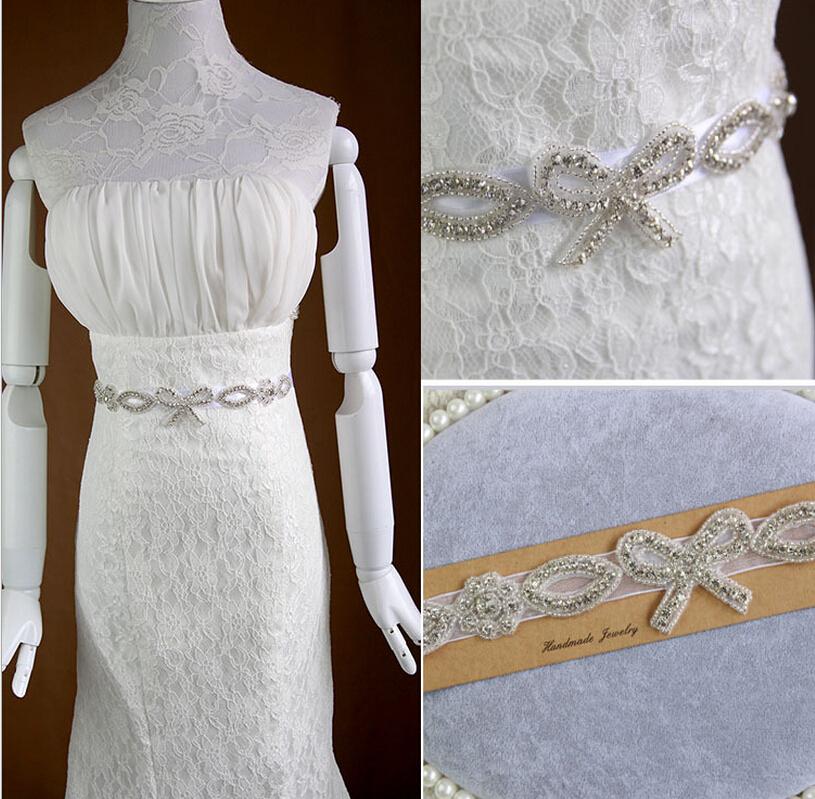 2015 new design crystal bridal belt wedding formal dress for Wedding dress accessories belt