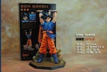 Dragon Ball Z Action Figures Bandai Zero Battle Version Son Goku PVC Figure Dragonball Z Figures 15CM Collectible Model Toy Goku
