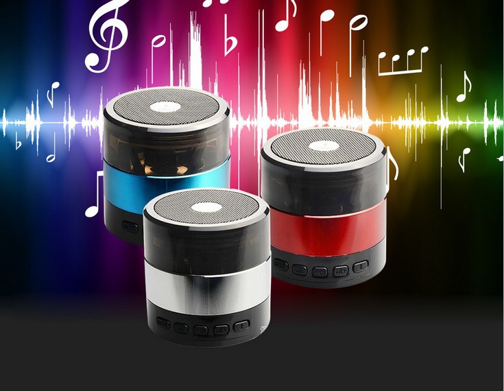 SDY001 Mini Bluetooth Hifi Speaker Micro SD/TF Card USB Disk Music Player MP3/4 wireless SDY-001 FM Radio iPhone Samsung pc - Super deals -FeiYang store