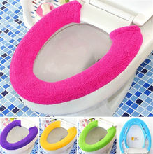 All Shape Toilet Cover Seat Lid Pad Bathroom Protector Closestool Soft Warmer HI(China (Mainland))