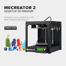 2016 Geeetech Newest High Quality 3D Printer Me Creator 2 Assembled Diy Machine Kit With LED 115V And 230V Optional