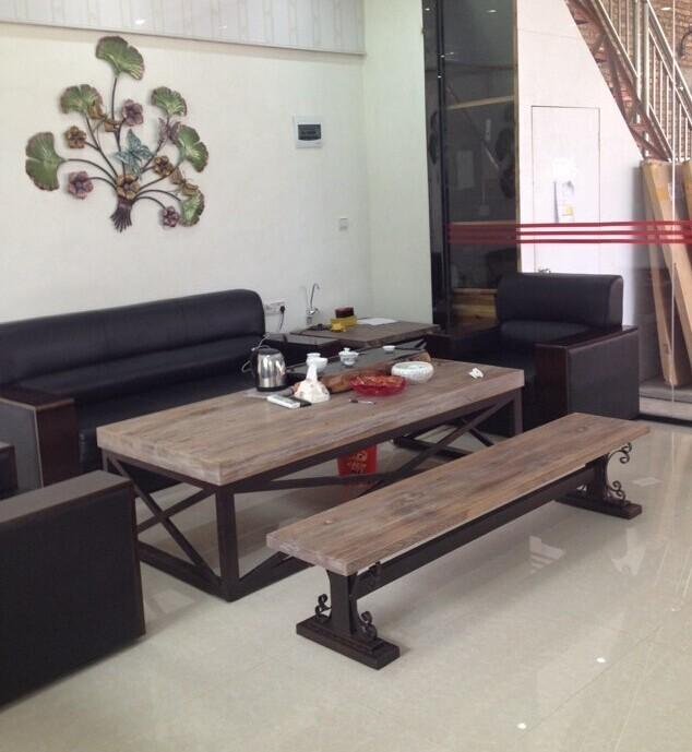 Online kopen wholesale metaal hout bankje uit china metaal hout bankje groothandel - Sofa smeedijzeren ...