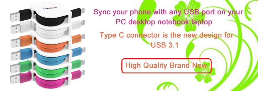 14cm Type-C Male to USB 3.0 Cable Adapter OTG Data Sync TPE+Aluminium Alloy Charger Charging Date Cable