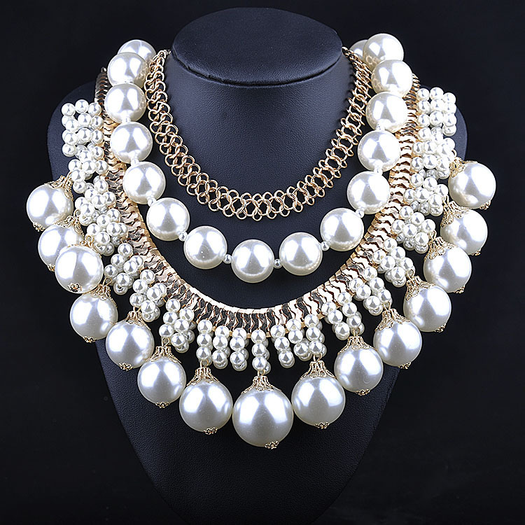 free shipping 2015 fashion new cheap gold chain necklace