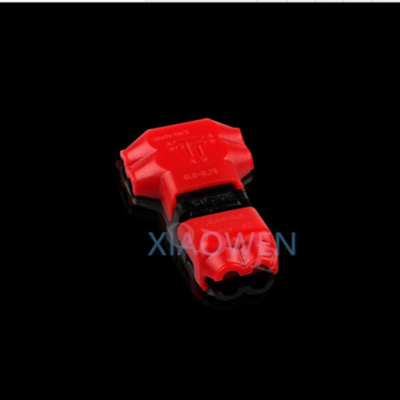 5 PCS 2 Pin DC/AC 300v 10a18-24awg 2 Way Easy Fit no welding no screws Quick Connector cable clamp Terminal Block  for led strip