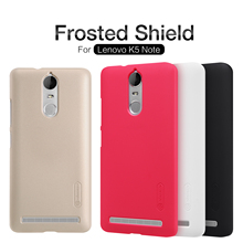 Buy Nillkin Frosted Shield Phone Case Lenovo K5 Note A7020 Back Cover Vibe K5 Note Pro Hard Matte Cases + Screen Protector for $7.19 in AliExpress store