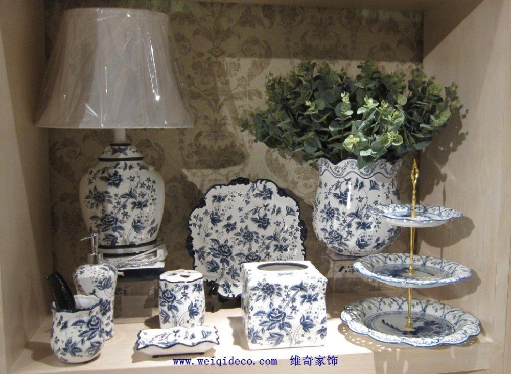 Accesorios de ba o ceramica - Ceramica azul para banos ...