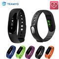 TEAMYO ID101 Smart Bracelet BT4 0 Heart Rate Monitor Smartband Pulse Sports Fitness Activity Tracker Wristband