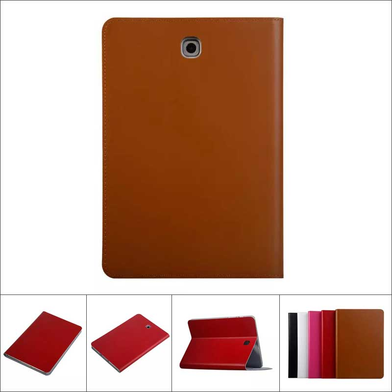 High Quality Cowhide Genuine Leather Case for Samsung Galaxy Tab S2 9.7 Business Stand Smart Cover for Samsung Tab S2 T810 T815<br><br>Aliexpress