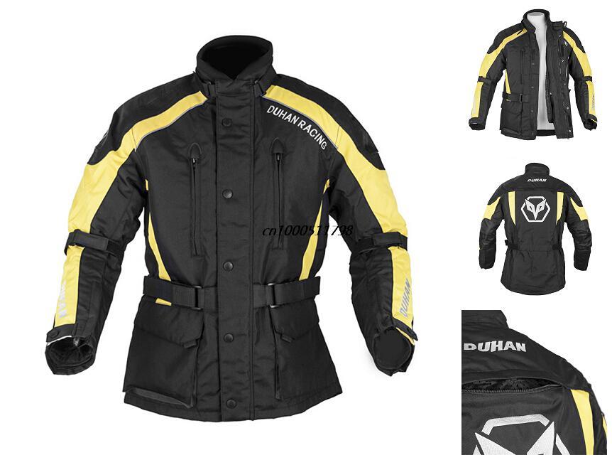 DUHAN Motorcycle Enduro jaqueta moto Travel Riding motorcycle jacket Off-Road Jaqueta Clothing with Five Protecter Gear(China (Mainland))