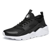 REETENE más barato de 2019 de malla de aire de los hombres zapatos casuales de verano Zapatos de los hombres de moda Zapatos casuales de cuero zapatos de los hombres zapatillas de deporte sandalias 37- 47(China)