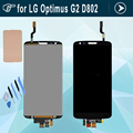 Replacement For LG Optimus G2 D802 LCD Screen display With Touch Screen Digitizer Assembly Balck adhesive