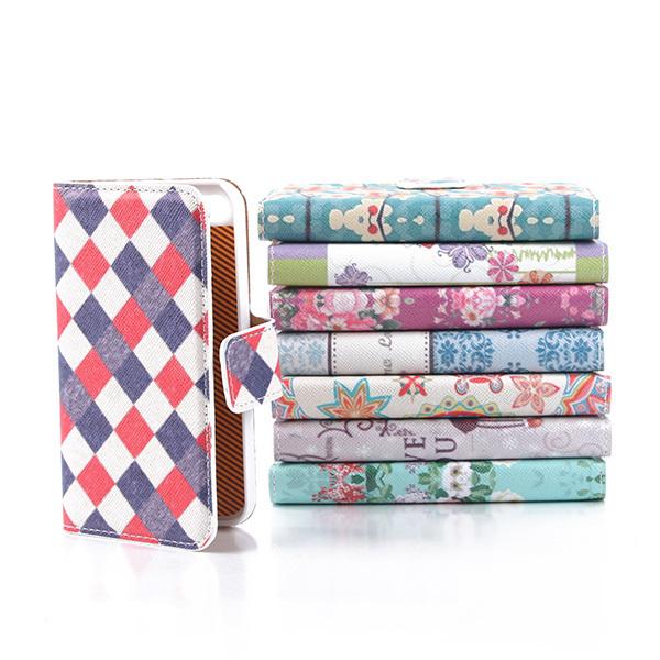Гаджет  Deluxe PU Leather Retro Floral Wallet Flip Case Cover For Iphone 4 4S Drop Free Shipping None Телефоны и Телекоммуникации