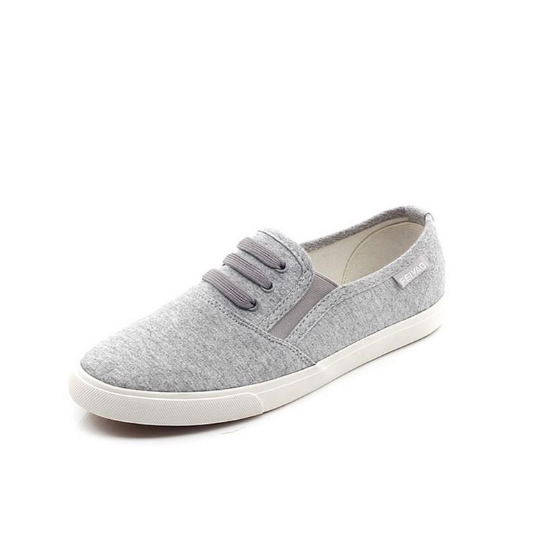 4 Colors Women Shoes Famous Brand 2015 Womens Casual Canvas Fashion Slip On Woman Flat Casual Shoe Cavans Leisures#HR54<br><br>Aliexpress