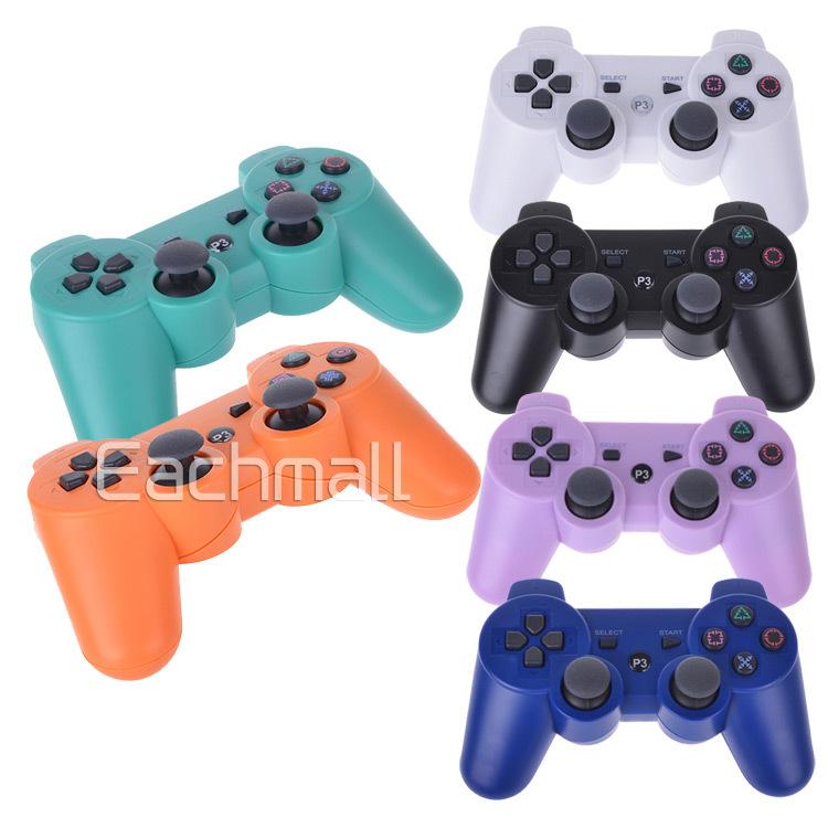 Wireless Bluetooth Controller Dual Game Controller Six Axis Shock 3 Controller Gamepad Controle for Sony PS3 Joystick Joypad(China (Mainland))