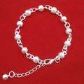 Folk style silver jewelry fashionable sweet Ball Bracelet high grade Bracelet Z2038