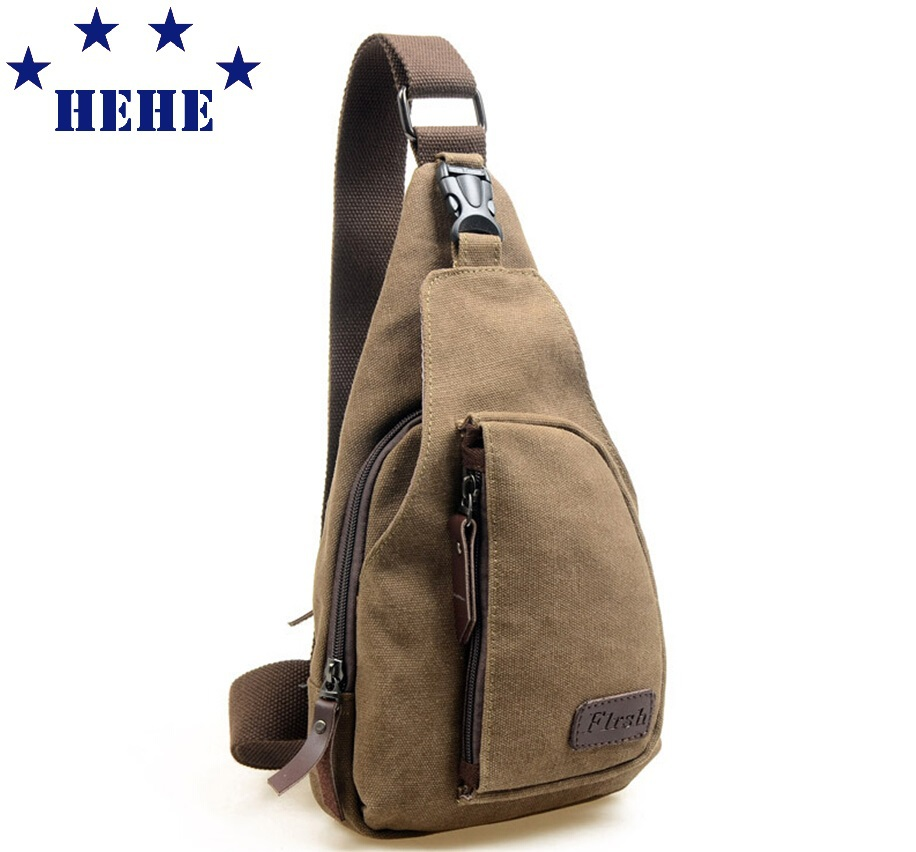 2015 Men's Casual Small Canvas Vintage Shoulder Hiking Fanny Cross body Bicycle Canvas Bag Messager bags QJ045(China (Mainland))
