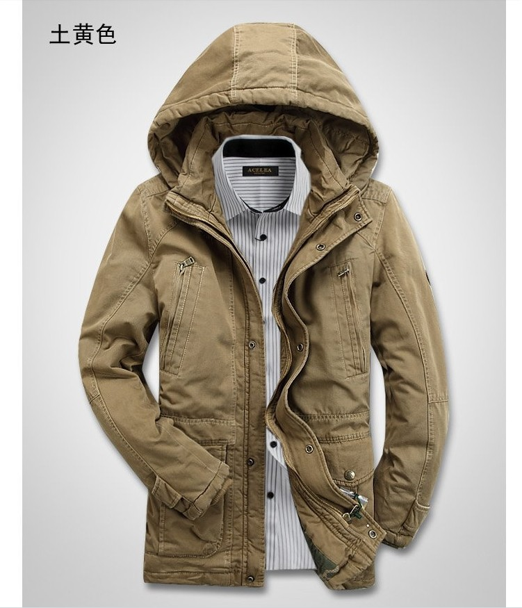 Spring autumn winter thickening men coat jacket, fashion 2013 outdoor men's charge clothes /M -- 4XL - T Y HUI's store