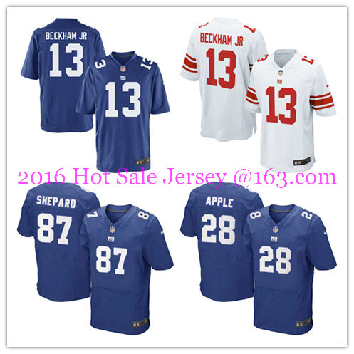 2016 men's 100% Stitched logo, ship out fast.Best quality @1 Style New York @1 Giants @1 free Shipping(China (Mainland))