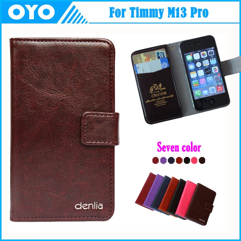 Hot!! Timmy M13 Pro Case 7 Colors Fashion Dedicated Genuine Leather Phone Exclusive Cover For Timmy M13 Pro Tracking