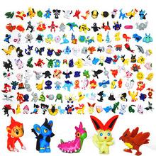 3cm 12 pcs Japanese Pokemon figures set 2016 New pokemon pikachu charizard doll Gift lot for kid party supply decor