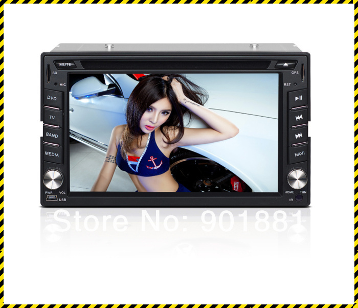 "Promotion 2014 NEW 6.2"" best double din car stereo WINCE6.0 Map GPS HD WIFI 3G DTV 1080P RDS Canbus I-Pod FM BT Steering"