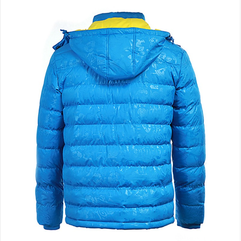 Men Jacket Warm cotton coat mens casual hooded jackets Handsome Outwear thicking  Coats