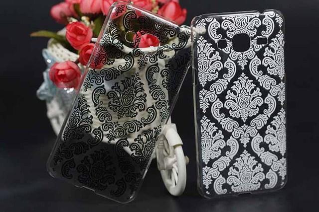 Etui Samsung J3 Vintage Black-White 2 kolory
