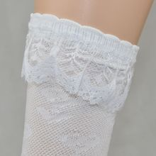 for 3 8 year girl Kid Toddlers Girls Knee High lace socks 40cm