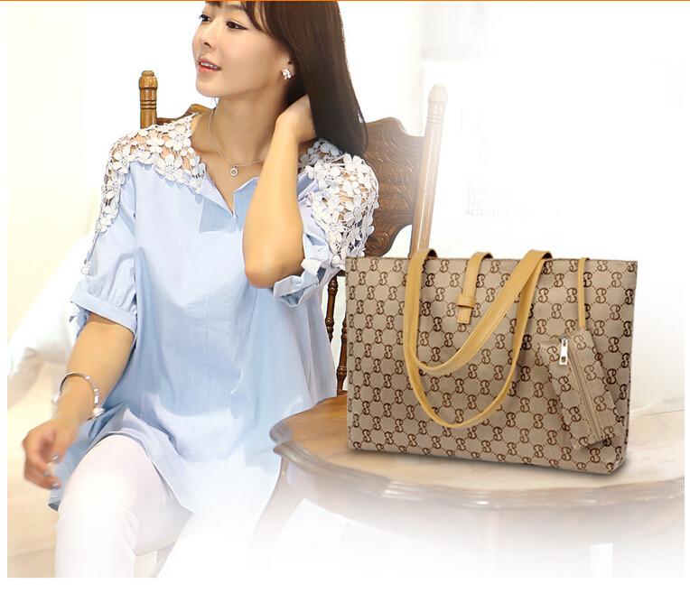 2014 women commuter belt buckle big bag wild colorful shoulder fashion shopping handbag drop shipping - Royal Star Industries Co., Limited store
