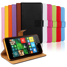Free Shipping Genuine Leather Wallet Flip Case for Nokia Microsoft Lumia 640 XL 640XL Phone Cases Cover with Card Holder(China (Mainland))