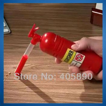 3pcs/lot Dust Extinguisher Shape Mini Desktop Vacuum Cleaner for Home Office